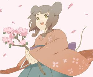 nezumi, anime girl, and kimono image