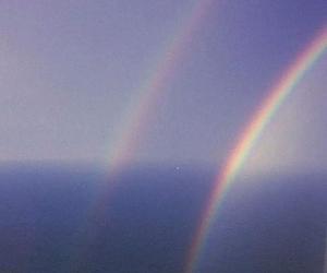 rainbow, grunge, and beautiful image
