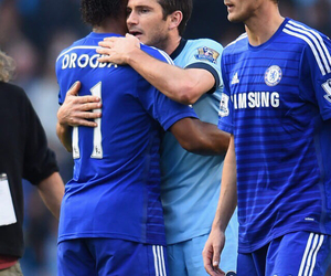 Chelsea FC, cry, and Frank Lampard image