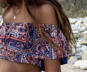 fashion, summer, and boho image