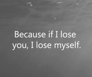 love, lose, and quote image