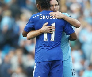 blue, Chelsea FC, and Drogba image