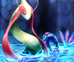 pokemon, milotic, and art image