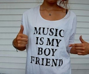 boy, girly, and music image