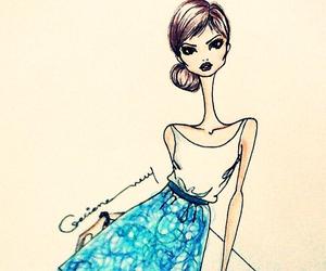 fashion, illustration, and ilustracao image