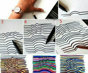 hand, diy, and art image
