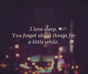 quote, sleep, and love image