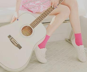 girl, songs, and love image