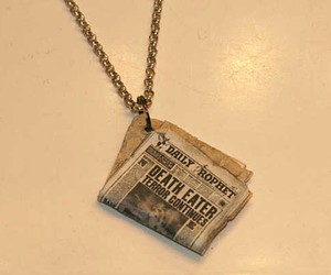 harry potter, deatheaters, and necklace image