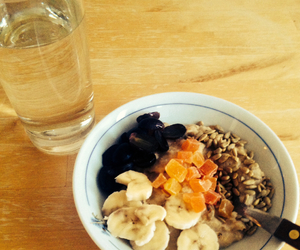 food, healthy, and breakfust image