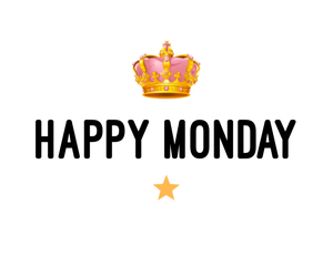 crown, happy, and monday image