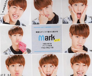 got7 and mark image