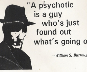 psychotic, quote, and text image