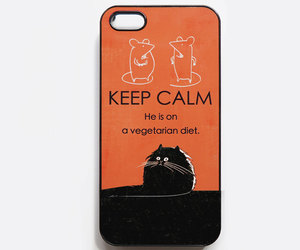 case, funny cat, and iphone 5s cover image