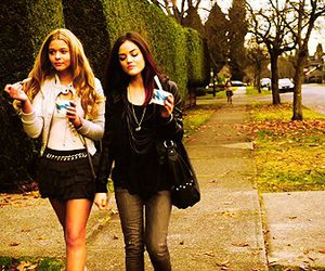 girl, lucy hale, and pretty little liars image