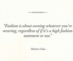 darrencriss, lovinit, and fashionquotes image