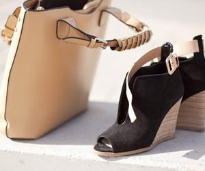 shoes, bag, and fashion image