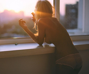 Grudge, sunrise, and hipster image