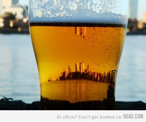 beer, city, and photography image