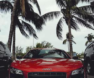audi, car, and red image