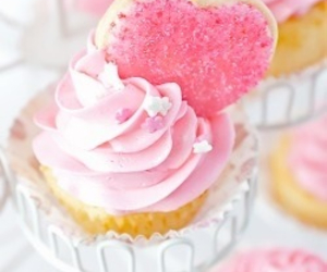 cream, cupcake, and love image