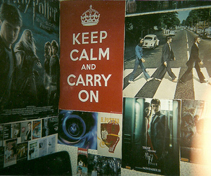 keep calm, harry potter, and poster image