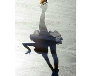 dress, figure skating, and leggings image