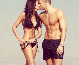 beach, sweet, and michelle keegan image