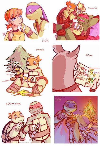 Image About Fanart In Tmnt By Xristina On We Heart It