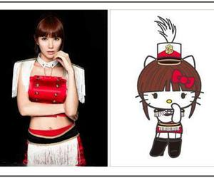 after school, hello kitty, and jungah image