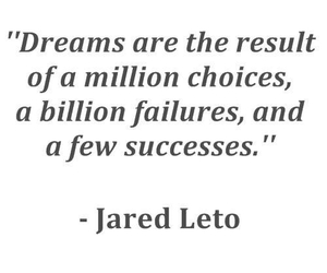 Dream, quote, and jared leto image