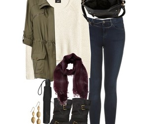 fall, simple, and outfit image