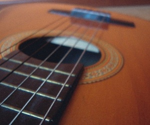 guitar, photo, and photography image