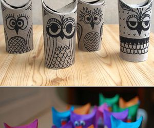 crafts, diy, and owl image