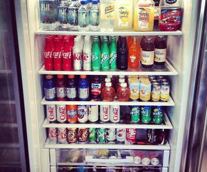 fridge and drink image