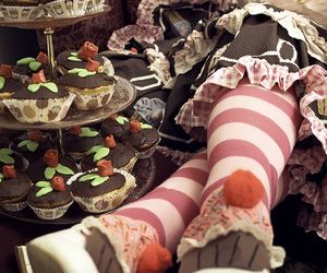 cupcakes, lolita, and cute image