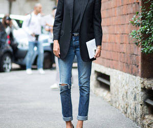 blazer, classy, and street style image