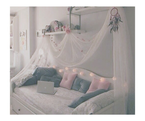bed, girly, and photography image