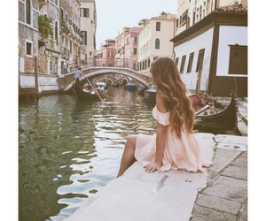 dress, hair, and italy image