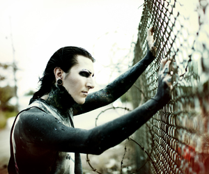 chris motionless, motionless in white, and miw image