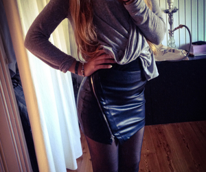 leather, new, and skirt image