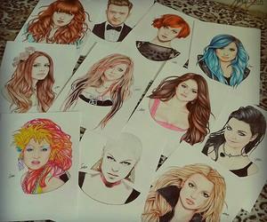 demi lovato, selena gomez, and Avril Lavigne image