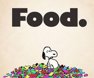 food, snoopy, and dog image