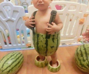 baby, funny, and casual image