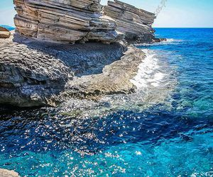sea, travel, and blue image