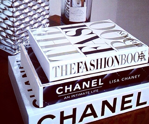 chanel and books image