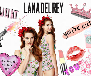 girl, it, and lana del rey image