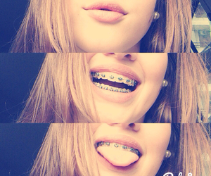 blond, lips, and smile image