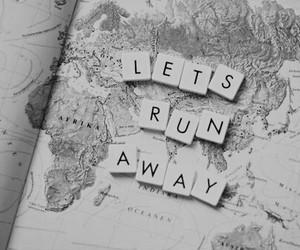 world, travel, and run image