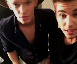 justin bieber and cody simpson image